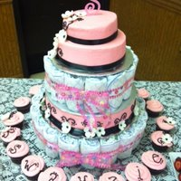 Swayzie Baby Shower Cake   *