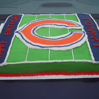 Birthday Bears Cake Birthday cake for Chicago Bears fan!Go Bears!Thanks for looking!