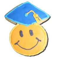 Smilie Kindergarten Graduation Cookie For my daughter's Kindergarten class