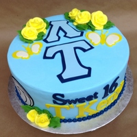 Sweet 16 Sorority Hobby Cake