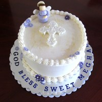 Daughter's First Communion Cake She wanted something simple