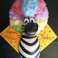 Marty The Zebra Sporting The Afro Wighe Wasa Blast To Make Thanks For Looking Marty the zebra sporting the afro wig...he wasa blast to make! Thanks for looking!