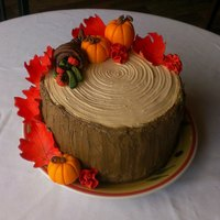 Fall Thanksgiving Cake *fall thanksgiving cake