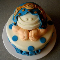 Monkey Baby Bottom Cake monkey baby bottom cake