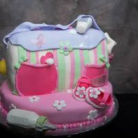 The Theme Is Baby Carter/ Baby Diaper Cake