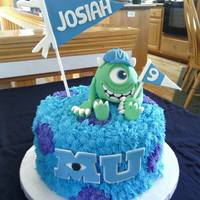 Monsters University Cake *