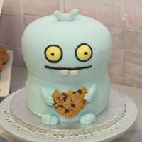 Ugly Dolls - Babo   My kid asked for a babo cake