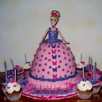 Buttercream Barbie Buttercream Barbie cake
