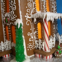 Victorian Gingerbread Mansion