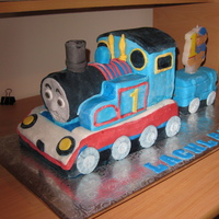 Thomas The Tank Ist attempt at doing Thomas, was more time consuming than I expected .