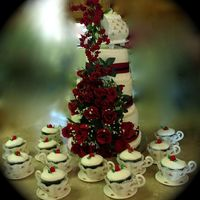 Teapot Cake Project A lot of 'firsts' with this one. Apologies for the blurring of the background, but it was my only option. Yes, someone is holding...