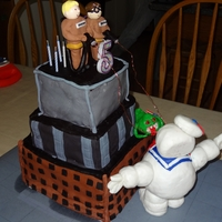 Ghost Busters Made by myself and daughter for her son's 5th birthday