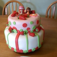 Strawberry Shortcake Strawberry Shortcake was so much fun to do! Got lots of ideas thanks to Cake Central! This was for a 4 year old's birthday! It is...