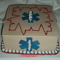 Groom's Cake For A Paramedic!