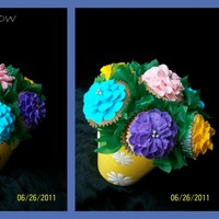Cupcake Bouquet have a lot of fun can't wait to make another ones :)