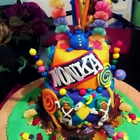 Willy Wonka Cake For My 27 Year Old Baby Sister willy wonka cake for my 27 year old baby sister....