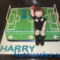 Football Referee Birthday Cake Football Referee birthday cake