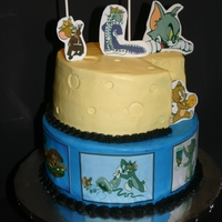 Tom And Jerry   Tom and Jerry birthday cake