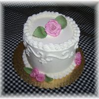 Mini Wedding Cake Sample