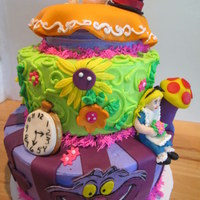 Alice In Wonderland Cake   Alice in Wonderland