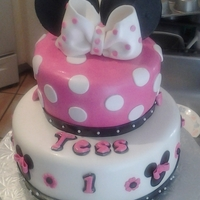 Minnie Cake Chocolate cake