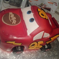Cars Red velvetcake