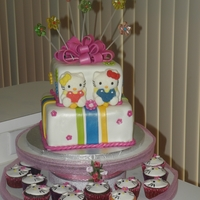 Hello Kitty HELLO KITTY/ CUPCAKE HAND PAINTING