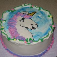 Unicorn Birthday My first chocolate transfer... overall I'm ok with how it turned out.... of course it's not what I envisioned (they rarely are),...