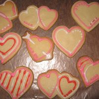 Valentine Cookies NFSC with Toba's Glace, my first attempt at cookie-ing... tons of fun!