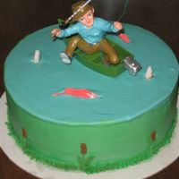 Fisherman Birthday Something simple for my dad's 60th birthday, between school, work and throwing the party, I wanted to do something simple. Fisherman &...