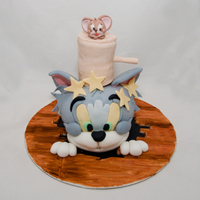 "Tom & Jerry   How to in book ""Cartoon Cakes"""