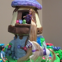 Disney Tangled - Rapunzel Front View