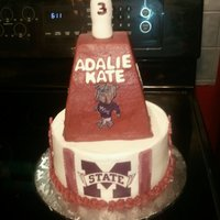 Cowbell Cake This 3 year old loves some MSU.