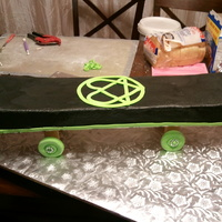 Heartogram Skate Board