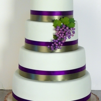 Tuscany Wedding Cake
