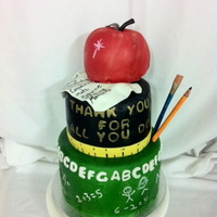 Teacher Appreciation Day I borrowed this design from a CC'r. Thanks so much! The apple was cake, so it was difficult to get the perfect shape. Teachers loved...