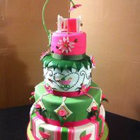 Lady Bug Theme Cake Lady Bug theme cake