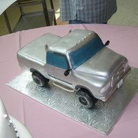 Dodge Grooms Cake Thiis was a recreation of the Grooms truck
