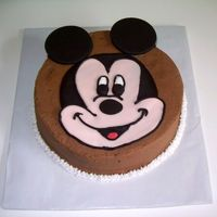 "Mickey Mouse This was a ""Just Because"" cake for a client's daughter. She ordered a larger cake for the rest of the family and wanted..."