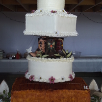 Hay Bale Wedding Cake