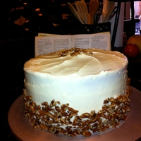 Simple Carrot Cake Simple carrot cake with pecans and cream cheese icing