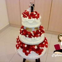 1319028274.jpg Buttercream Wedding Cake..