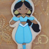Princess Jasmine Princess Jasmine cookie