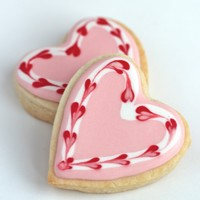 Marbled Heart Cookies For Valentines Day Marbled Heart Cookies for Valentine's Day