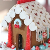 Sweet Treats Gingerbread House Sweet treats gingerbread house
