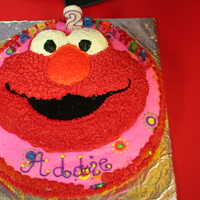 Elmo Cake   My daughter loved Elmo, so this is what she got for her second birthday.