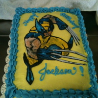 Happy Birthday Jackson My grandson's 5th birthday. FBCT of Wolverine.