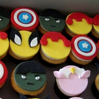 Marvel Super Hero Cupcakes