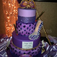 30Th Masquerade Birthday Cake