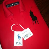 Big Pony Ralph Lauren Polo Shirt Cake 9x13 chocolate cake filled with strawberry filling